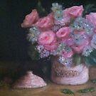 Flowers in Jar by daniels