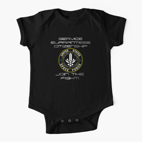 United States Space Force Short Sleeve Baby One-Piece