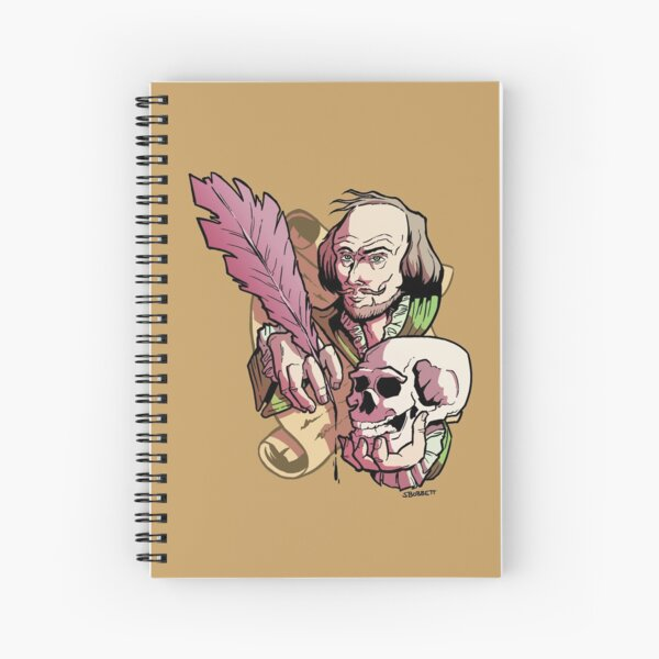 Shakespeare 400th Anniversary Tribute Spiral Notebook