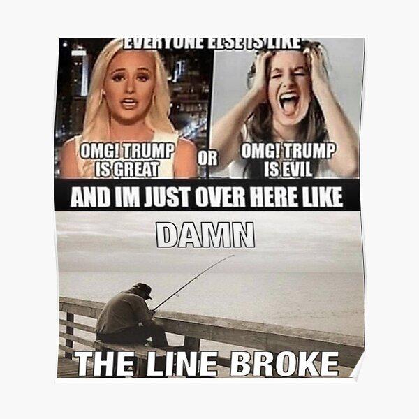 Fishing Meme Posters Redbubble