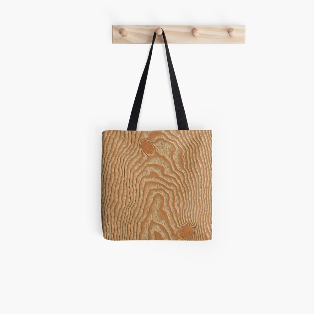 Faux Wood - Light Tote Bag