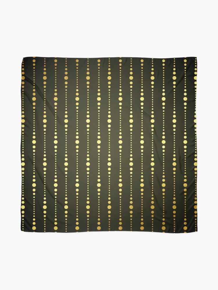 Alternative Ansicht von Art Deco Le Carnaval Muster Tuch