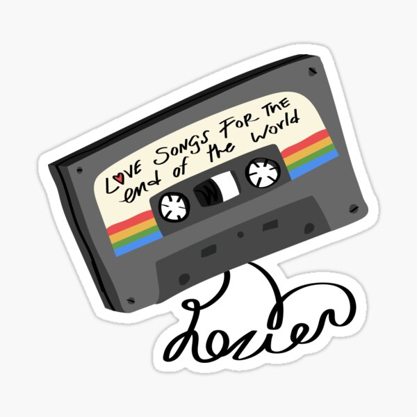 Love Songs for the End of the World Sticker