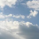 Blue Sky and Clouds by DebbieCHayes