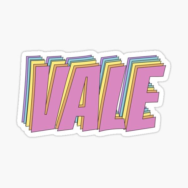 Vale Sticker