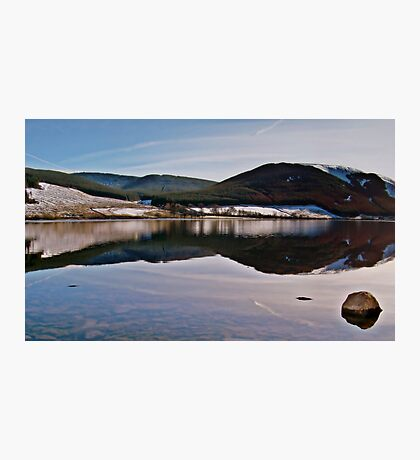 Reflections Over St. Mary's Loch In Scotland. Photographic Print