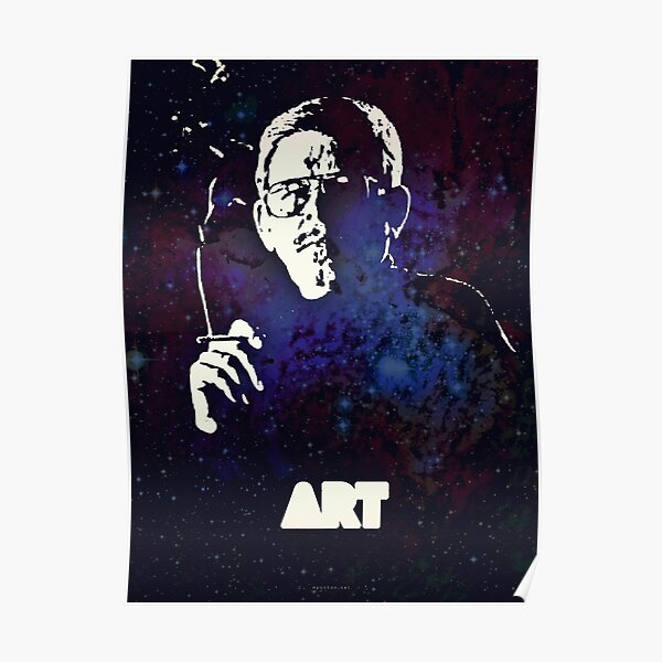 Icons - Art Bell Poster