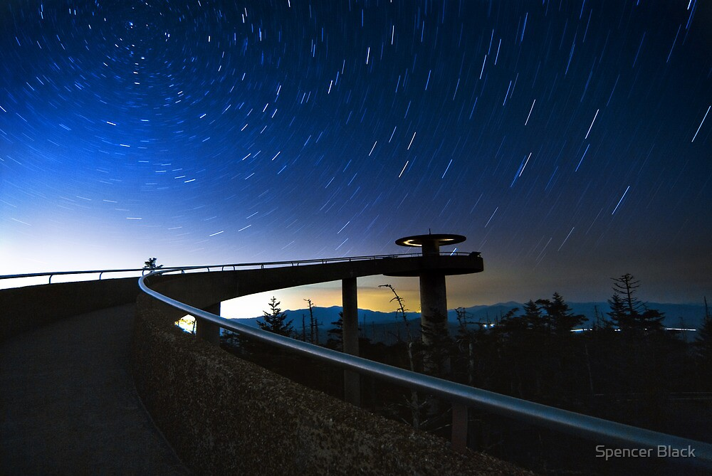 Clingman's Dome, Great Smokey Mountains National Park by Spencer Black