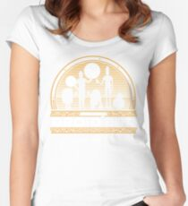 Droid Bar Women's Fitted Scoop T-Shirt
