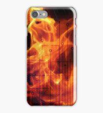 Digital Fire ,Virtual Flame iPhone Case/Skin