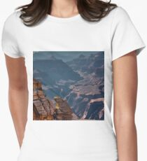 Grand Canyon, Mather Point, Arizona Women's Fitted T-Shirt