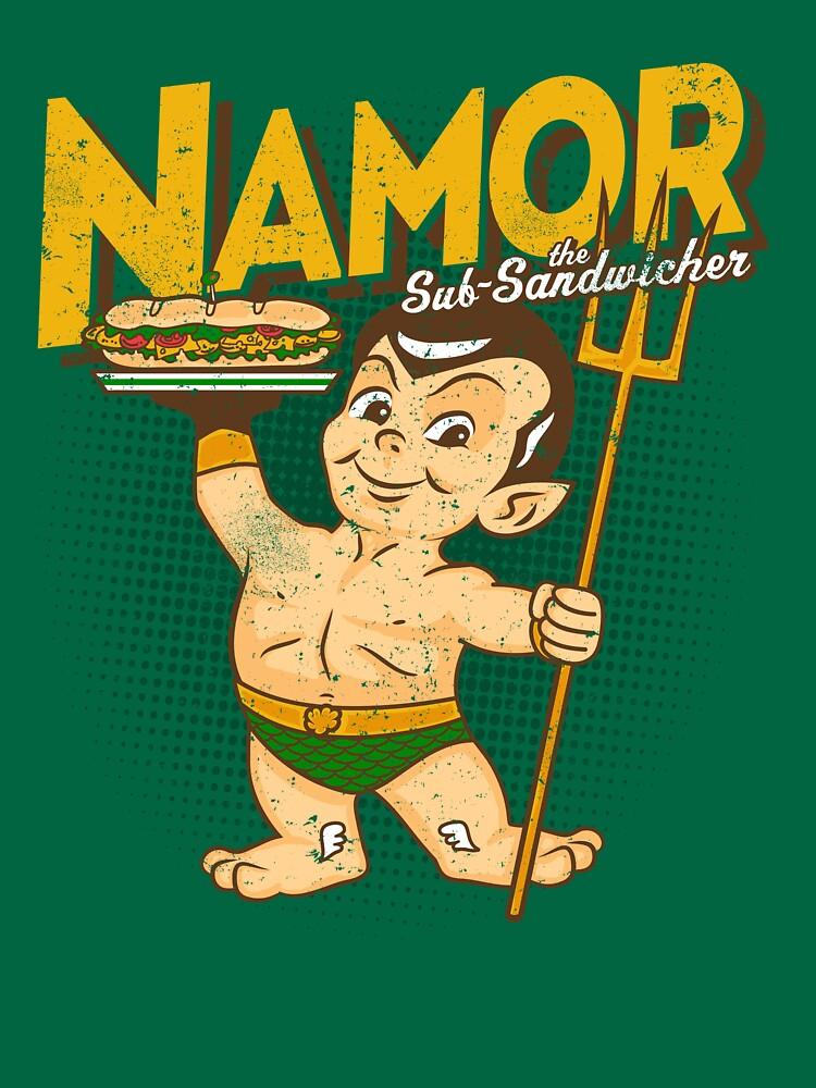Namor The Sub-Sandwicher! by popnerd