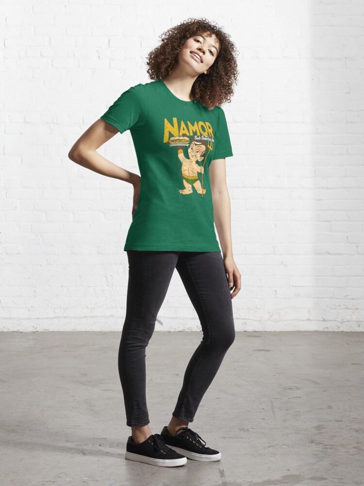 Alternate view of Namor The Sub-Sandwicher! Essential T-Shirt