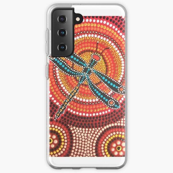Blue Dragonfly Samsung Galaxy Soft Case
