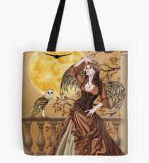 Owl Fairy Angel Masquerade Ball Tote Bag