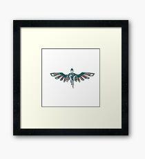 Phoenix Person Framed Print