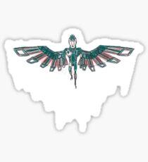 Phoenix Person Sticker