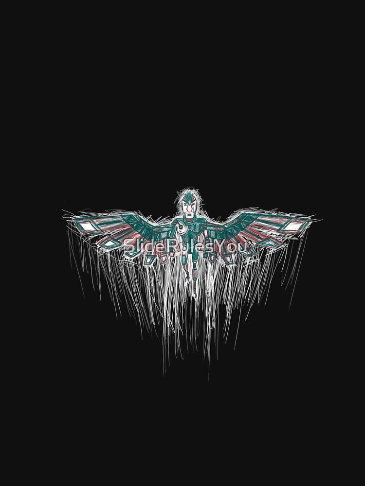 Phoenix Person by SlideRulesYou