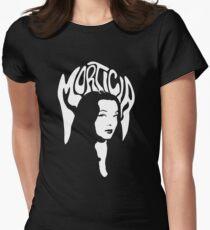 Camiseta entallada para mujer Morticia Addams