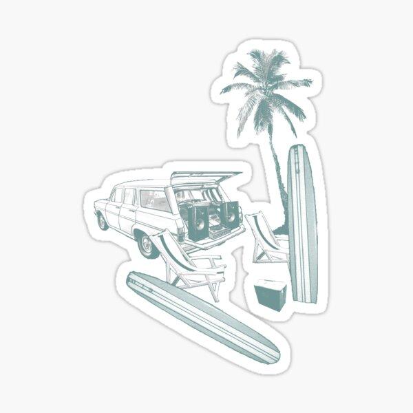Beach Retreat Sticker