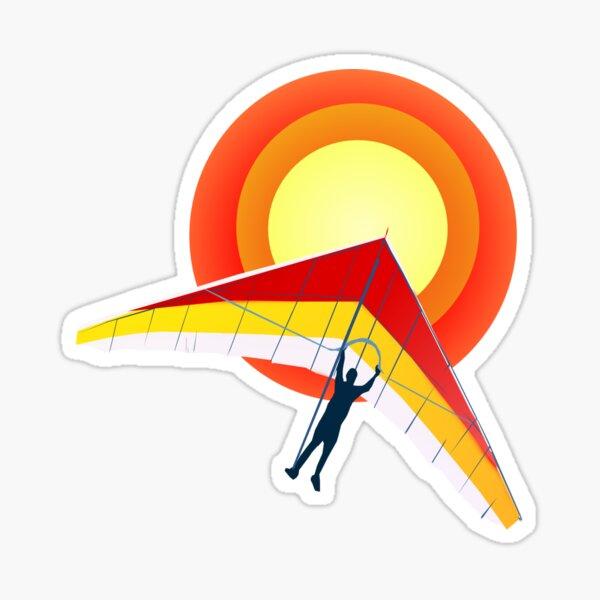 Hang Glider Sticker