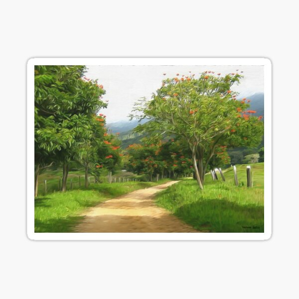 HC 42 Landscape Sticker