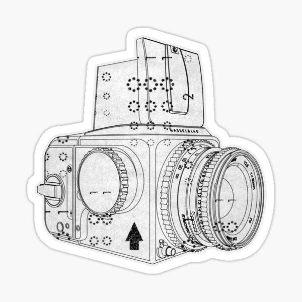 Hassel Format Sticker