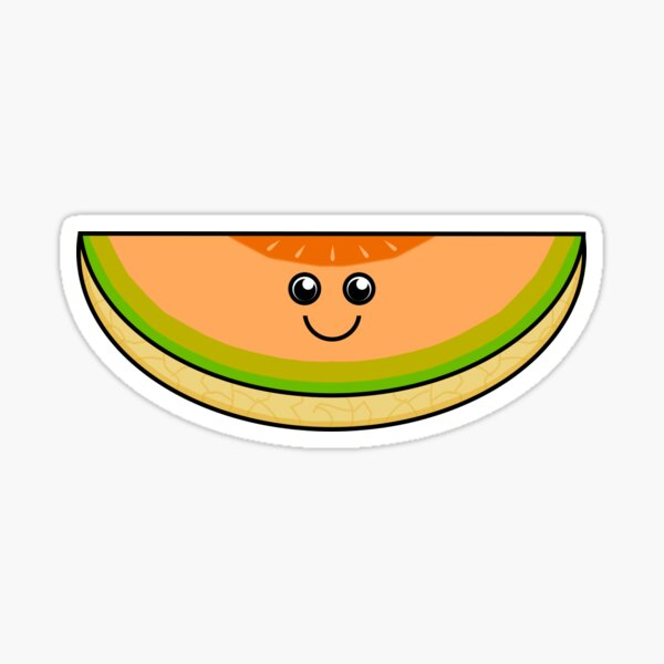 Cantaloupe Stickers Redbubble Singing wolf and might refer to a spot where wolves gathered, but this might be folk etymology. redbubble