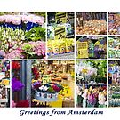 Floral Amsterdam by Kasia-D