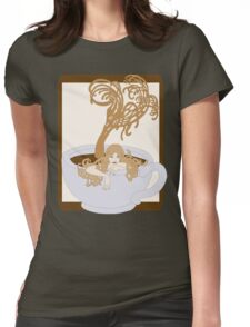 Swimming In The Java Seas Womens Fitted T-Shirt