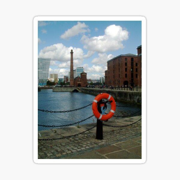 Liverpool Docks Sticker