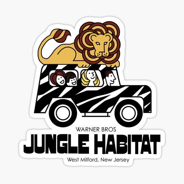 Jungle Habitat - West Milford, NJ Sticker
