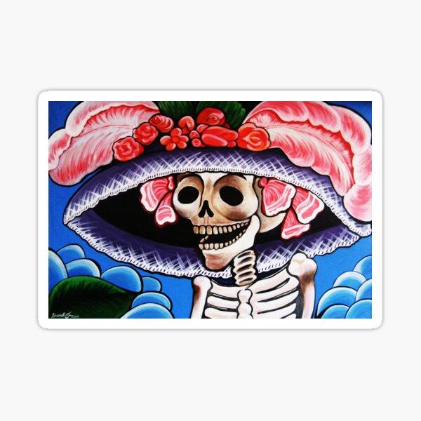 Posada's Big Hat Sticker