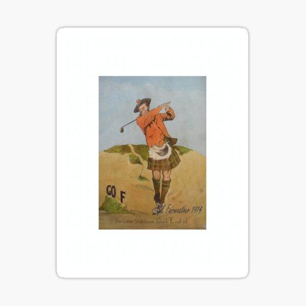 Scot Golf Sticker