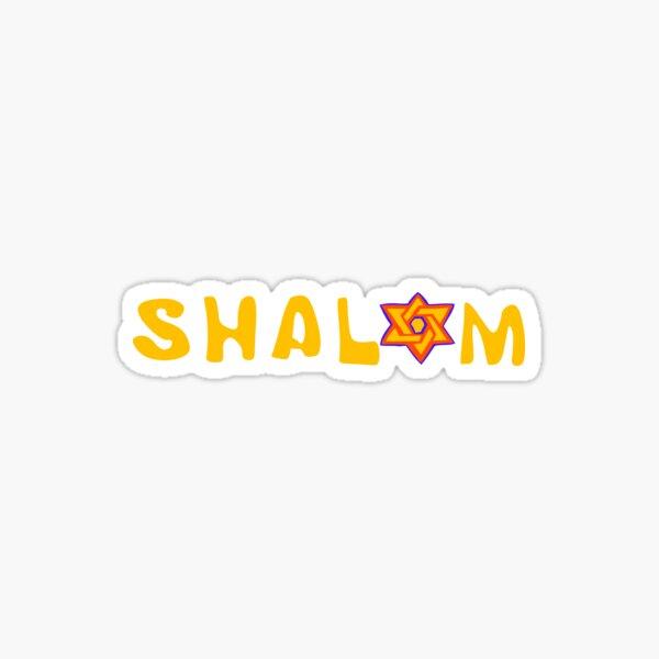 Shalom T-Shirt Sticker