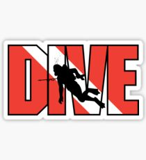 SCUBA Dive Sticker