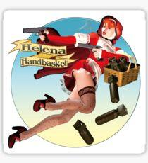 Helena Handbasket - Red Hot Riding Hood Sticker