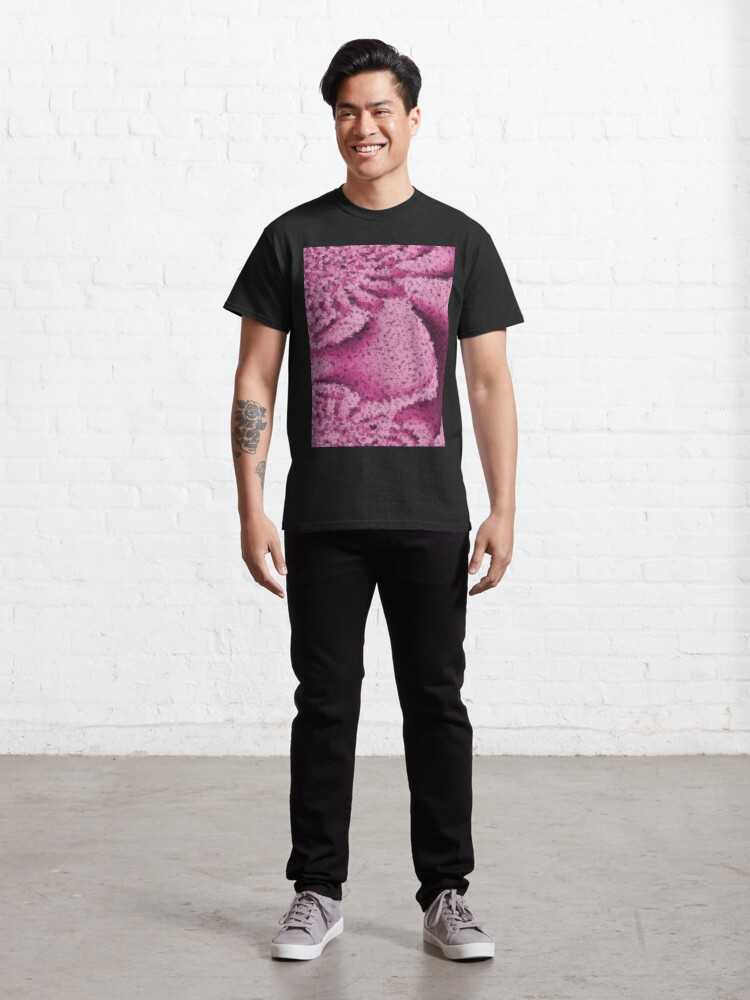 Alternate view of Pink Confetti - Psychedelic Digital Art Classic T-Shirt