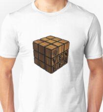 VENEER CUBE Slim Fit T-Shirt