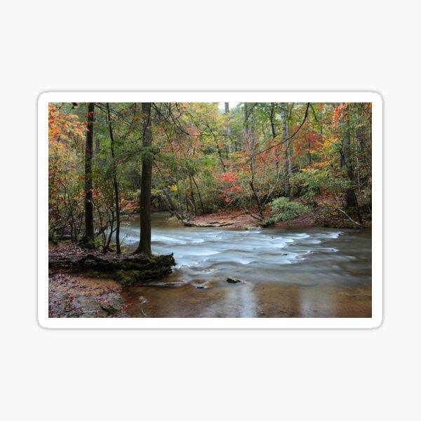 down stream Sticker