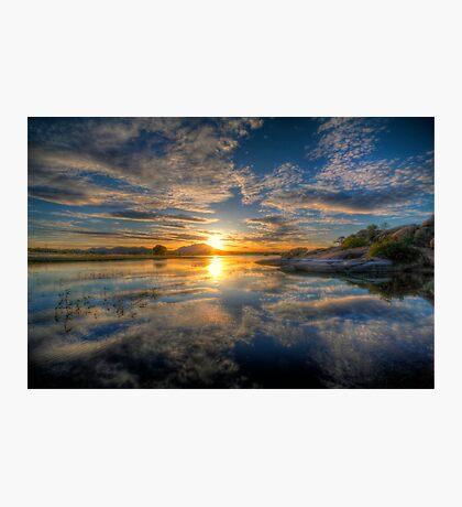 Sunset Reflect 1 Photographic Print