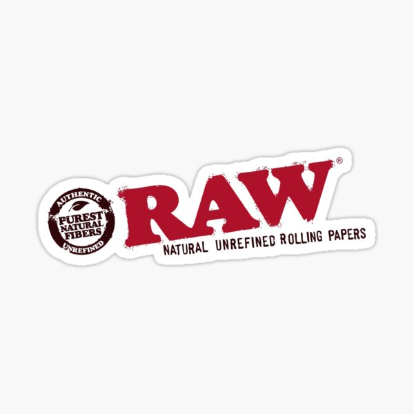 RAW-Logo Sticker