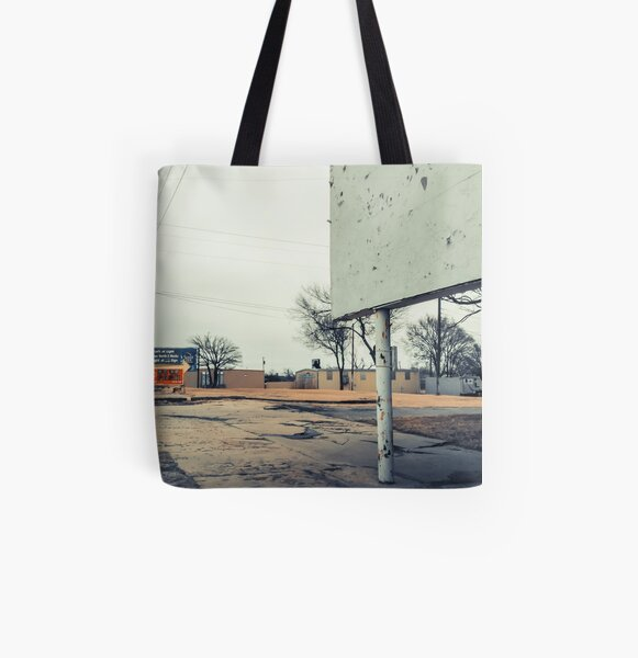 I'm Here All Over Print Tote Bag