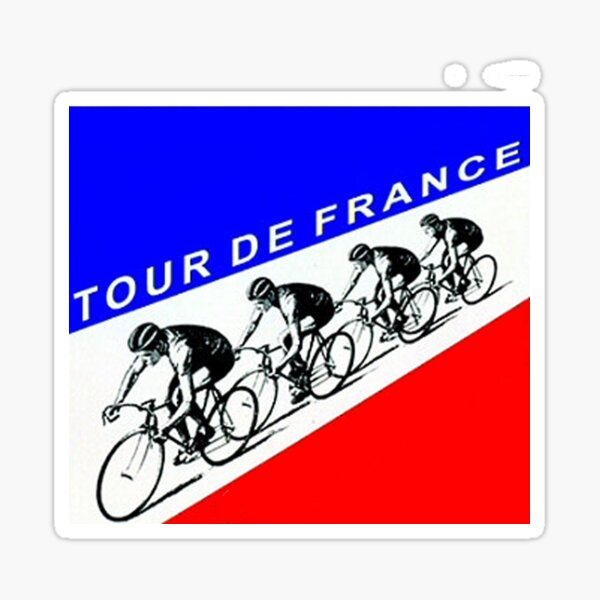 Tour de France Sticker