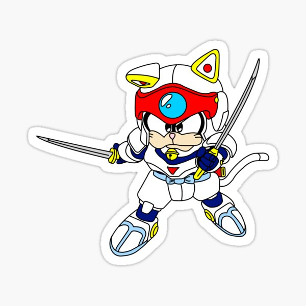 Samurai Pizza Cats Stickers Redbubble