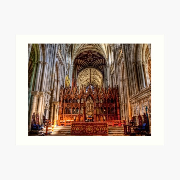 Winchester Cathedral - The Altar Art Print