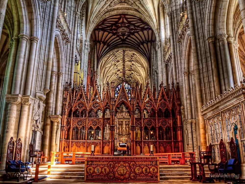 Winchester Cathedral - The Altar by NeilAlderney