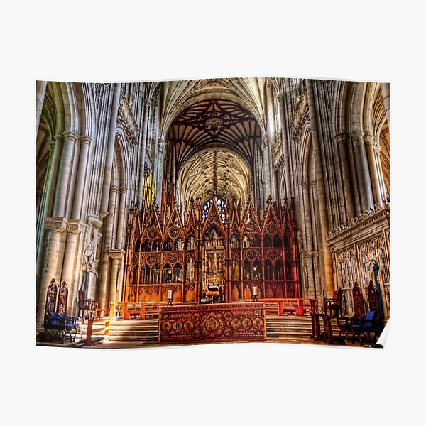 Winchester Cathedral - The Altar Poster