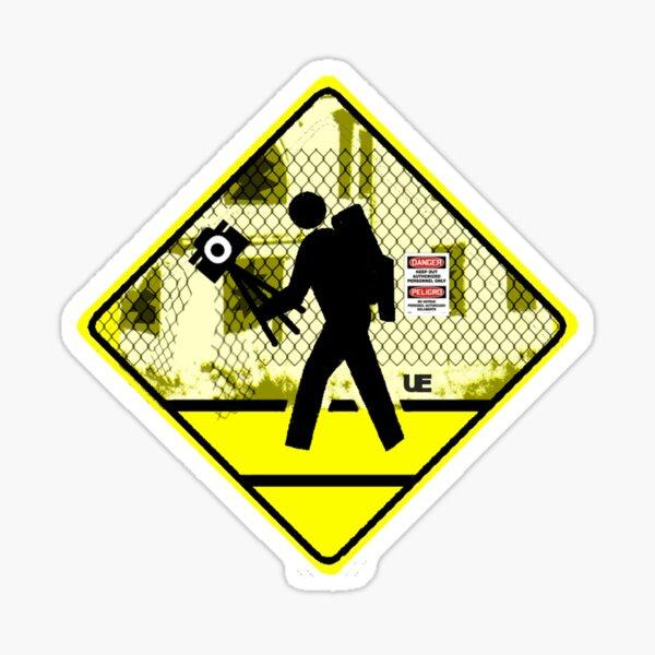 Urbex Crossing Sticker