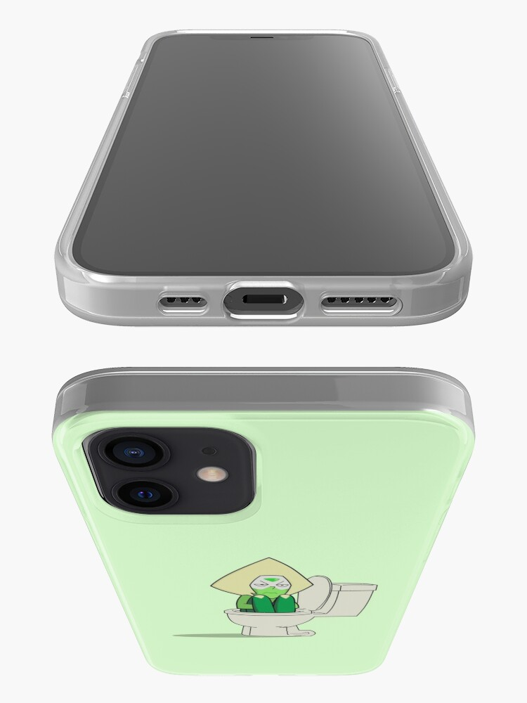 Alternate view of Steven Universe - Peridot In the Toilet iPhone Case & Cover